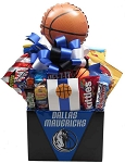 DALLAS MAVERICKS SNACK BASKET