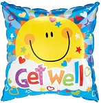 GET WELL SMILE BALLOON