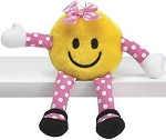 Sassy Smiley Face Plush
