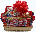 SNACK ATTACK TRAY GIFT BASKET
