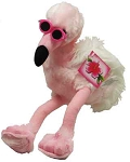 Plush Pink Flamingo Flo