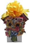 Beautiful Gift Basket Bouquet