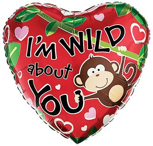 I'm Wild About You Balloon