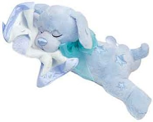 Plush Blue Snooze Sammee Puppy
