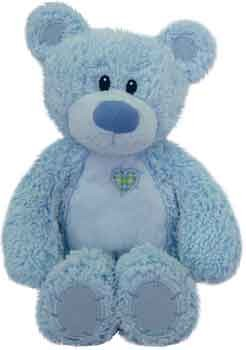 Plush Baby Blue Tender Teddy