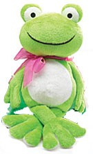 ADORABLE FROG PLUSH