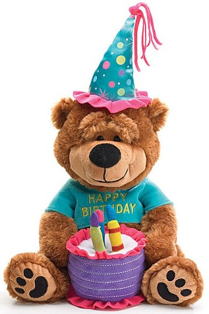 Happy Birthday Bear Plush