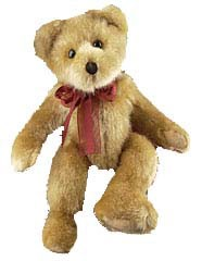 Plush Bear Sebastian