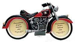 MOTORCYCLE PHOTO FRAME