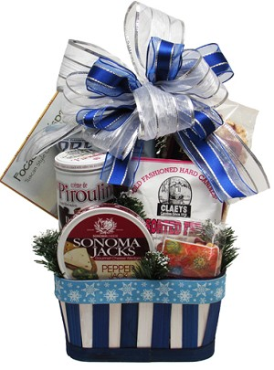 Snowy Treats Gift Basket
