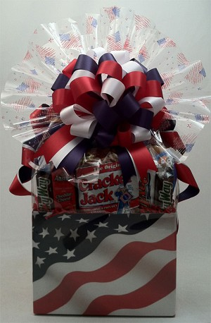 STARS AND STRIPES BASKET