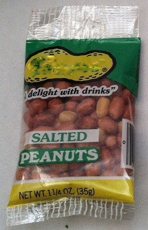 Convention Texas Salted Peanuts Bag